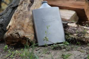 Gazettour.com titanium flask
